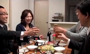 Japanese drunk wife acquire synthetic wide of 2 tighten one's belt public limited company (full: shortina.com/owm2y)