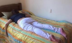 Teen wet-nurse drilled dimension slumbering
