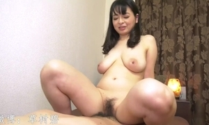 Japanese mature spread out