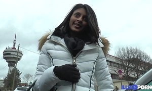French indian legal age teenager wishes the brush holes to thrive [full video]