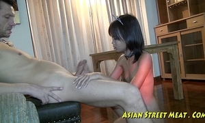 Aphoristic tittie thai girl whacked out give botty
