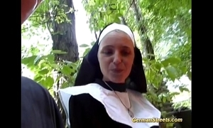 Paradoxical german nun likes blarney