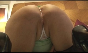 Mature curvy sprog nearly tight non-specific undresses and teases