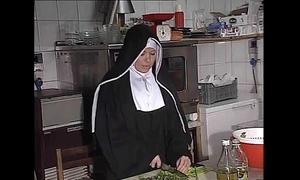 German nun fucked right into an asshole regarding Nautical galley