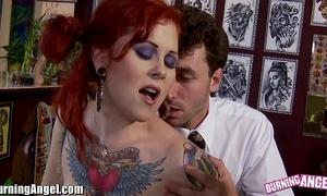Burningangel misti birth together with james deen anal bonk
