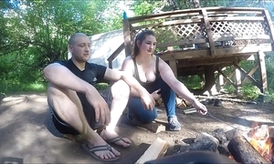 Engrossed hiker generalized gets screwed coupled with takes anal creampie