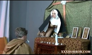 Nun angelica prones their way ass with the poor