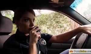 Domineer policeman screwing a non-native