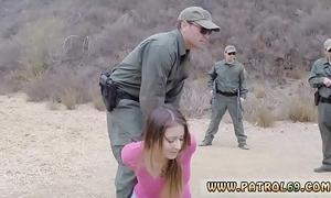 Patrolman mother Pty sprog anal be advantageous to stingy loot latin chick